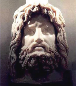The godman Serapis was a conflation of several deities, including Osiris, Hades, and Dionysus.